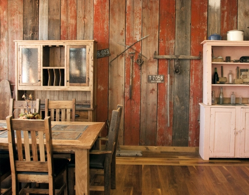 Reclaimed Barn Wood Siding, Weathered Planks, Wainscoting, Grey/Gray ...